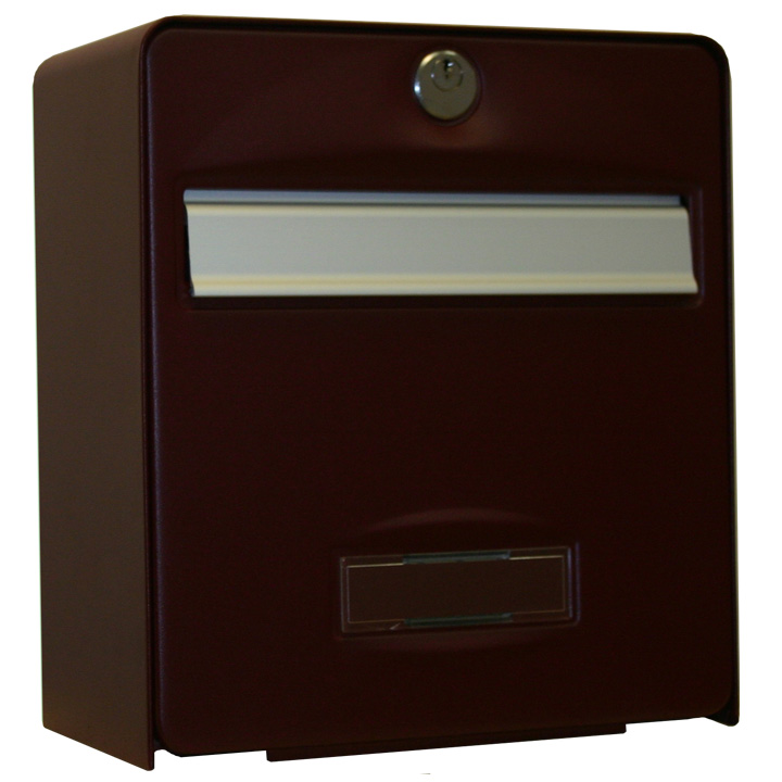 bo te aux lettres mini balthazar coloris rouge pourpre balsa homologu e la poste fran aise. Black Bedroom Furniture Sets. Home Design Ideas