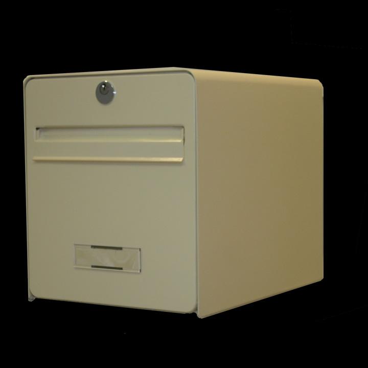 Bo te aux lettres standard 1 porte coloris beige volet - Etiquette boite au lettre ...